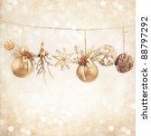 Christmas Background. Holiday...