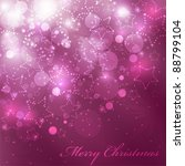 vector christmas background... | Shutterstock .eps vector #88799104