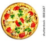 tomato pizza   Shutterstock . vector #8881687