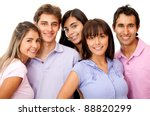 group of happy friends smiling  ... | Shutterstock . vector #88820299
