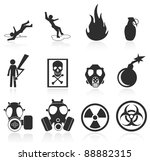 Danger Icons Easy To Edit And...