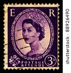 uk circa 1952 a stamp printed... | Shutterstock . vector #88926490