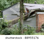 A Large Oak Tree Falls On And...