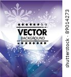 vector abstract background | Shutterstock .eps vector #89014273