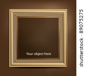 picture frame | Shutterstock .eps vector #89075275