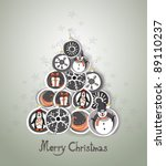 christmas background | Shutterstock .eps vector #89110237