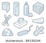 hygiene means | Shutterstock .eps vector #89130244