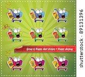shopping chart | Shutterstock .eps vector #89131396