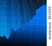 graph showing success | Shutterstock . vector #8913355
