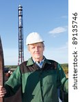 mature man manual worker in... | Shutterstock . vector #89135746