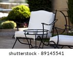 Garden Furniture In Wrought Iron