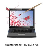conceptual illustration of... | Shutterstock .eps vector #89161573