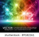 transparent number 2012 on... | Shutterstock .eps vector #89182261