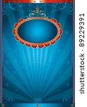 magic blue . an abstract...   Shutterstock .eps vector #89229391