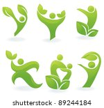 vector collection of ecological ... | Shutterstock .eps vector #89244184
