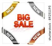 set advertising angular... | Shutterstock .eps vector #89251195