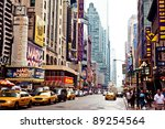 new york city   july 2  times... | Shutterstock . vector #89254564