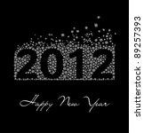 2012 year | Shutterstock .eps vector #89257393