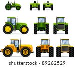 Tractors  Set  41 . Set Of The...