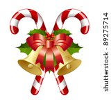Candy Canes Decorated With...