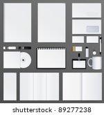 corporate identity presentation ...   Shutterstock .eps vector #89277238