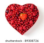 Red Berries For Valentine's Day ...