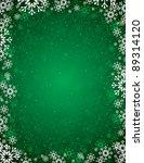christmas background. eps10. | Shutterstock .eps vector #89314120