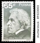 poland   circa 1987  a stamp...   Shutterstock . vector #89323003