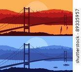Bridge In Day And Night Arabic...