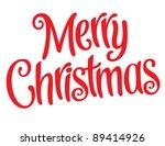 playful vector lettering series ... | Shutterstock .eps vector #89414926