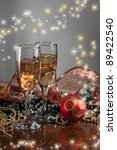 happy new year and merry... | Shutterstock . vector #89422540
