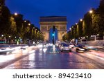 paris   september 27  triumphal ... | Shutterstock . vector #89423410