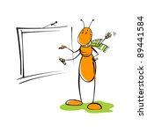 ant teacher | Shutterstock .eps vector #89441584