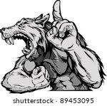 cartoon vector mascot image of... | Shutterstock .eps vector #89453095