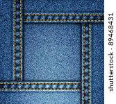 realistic denim background.... | Shutterstock . vector #89468431