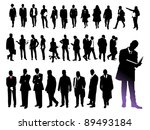 business people | Shutterstock .eps vector #89493184