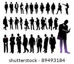 business people | Shutterstock .eps vector #89493184