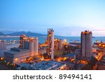 cement plant concrete or cement ... | Shutterstock . vector #89494141
