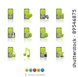 Phone Applications Icon Set 11...