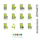 Phone Applications Icon Set 11...
