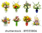 collage of various colorful... | Shutterstock . vector #89555806