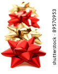 decorative gift ribbons on a... | Shutterstock . vector #89570953