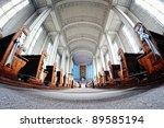 church interior | Shutterstock . vector #89585194