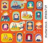 child's background | Shutterstock .eps vector #89606719