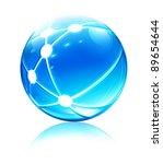 vector illustration of glossy...   Shutterstock .eps vector #89654644