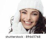 Beautiful Woman In Warm...