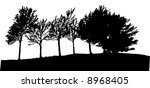 tree  vector  | Shutterstock .eps vector #8968405