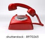 retro phone | Shutterstock . vector #8970265