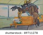 Ussr   Circa 1975  A Postcard...