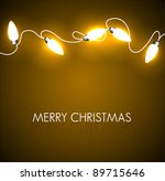 vector christmas background... | Shutterstock .eps vector #89715646